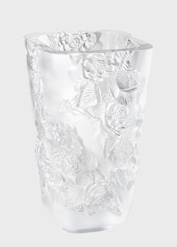 Ваза Lalique Pivoines с цветами, фото