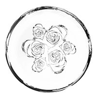 Ваза Rogaska Flowers из хрусталя 13см, фото