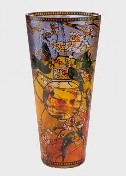 Ваза Goebel Artis Orbis Parakeets Tiffany 30см, фото