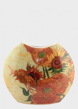 Ваза Goebel Artis Orbis Sunflowers 20см стилизована под картину Винсента ван Гога, фото