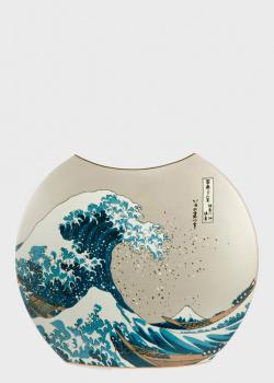 Ваза Goebel Artis Orbis Katsushika Hokusai 30см из фарфора, фото