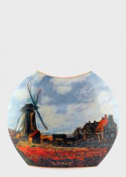 Ваза Goebel Artis Orbis Маковое Поле стилизована под картину Клода Моне, фото