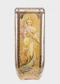 Ваза Goebel Artis Orbis Четыре Сезона 1900 стилизована под картинку Альфонса Мухи, фото