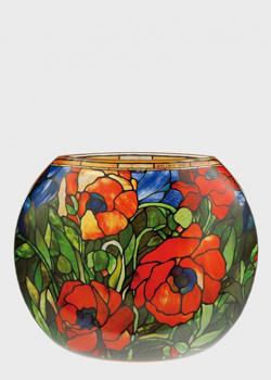 Настольная ваза Goebel Artis Orbis Louis Comfort Tiffany 26х22см, фото