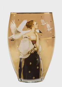 Настольная ваза Goebel Artis Orbis Pale Swan 30см, фото