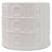 Белый керамический вазон Palais Royal Истории города, фото
