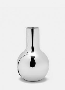 Настольная ваза Skultuna Boule серебристого цвета, фото
