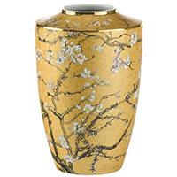 Ваза Goebel из фарфора золотистого цвета 24см, фото