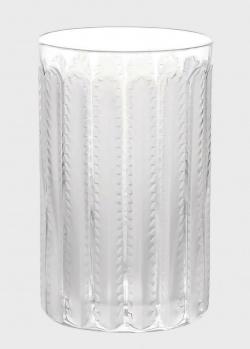 Хрустальная ваза Lalique Jaffa с орнаментом, фото