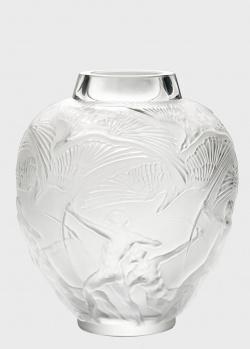 Ваза из хрусталя Lalique Archers с изображением лучников, фото