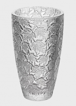 Хрустальная ваза Lalique Feuillage с кленовыми листьями, фото