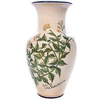 Ваза L'Antica Deruta Ботаника Valeriana, фото