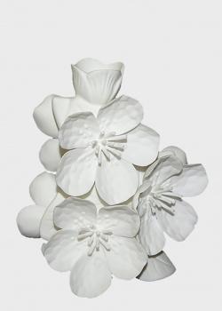 Ваза Цветы Сакуры Enesco из бисквитного фарфора, фото