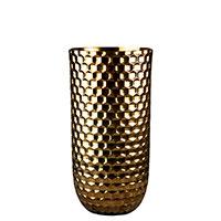 Ваза Ceramika Design Xago золотистого цвета, фото