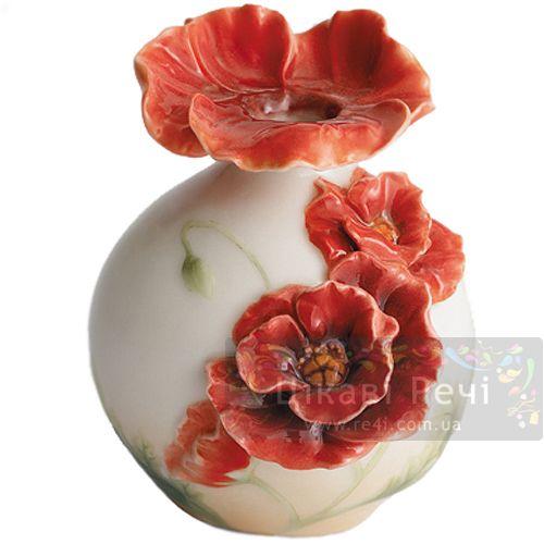 Полевой мак: ваза, фото