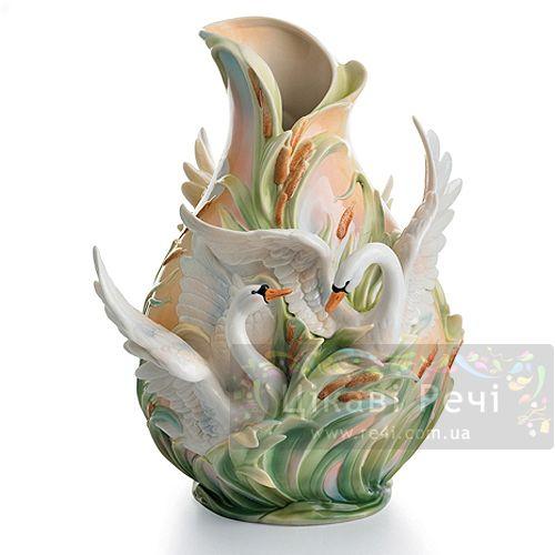 Лебедь: ваза, фото