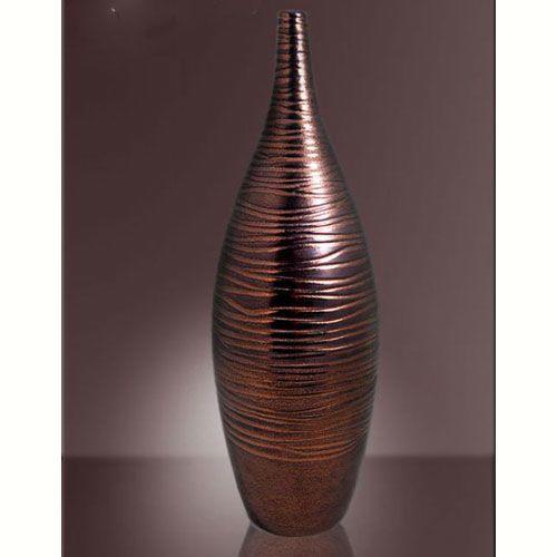 Ваза интерьерная Modern Art бронзовая, фото