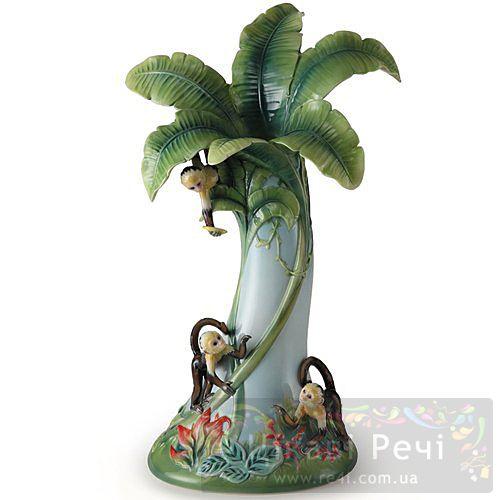 Обезьянки: большая ваза, фото