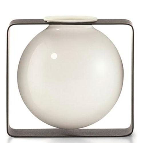 Ваза Philippi Float квадратная из фарфора, фото