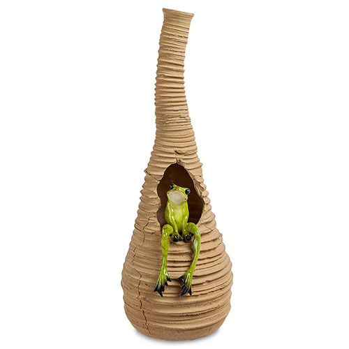 Высокая ваза Pavone ED Лягушка, фото