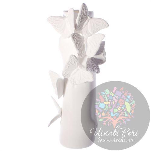 Ваза Бабочки Enesco из бисквитного фарфора, фото