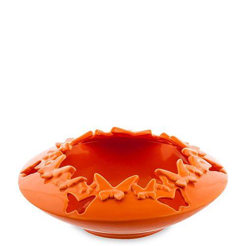 Ваза Pavone FM Бабочки оранжевого цвета, фото