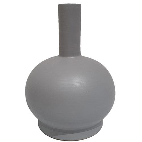 Ваза Rina Menardi Royal Vase 32см серого цвета, фото