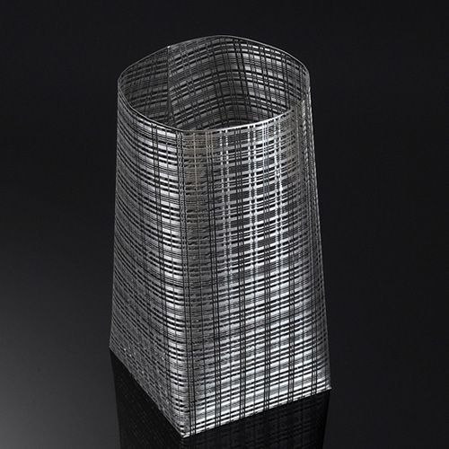 Ваза Metalace средняя с ажуром Prince of Wales, фото