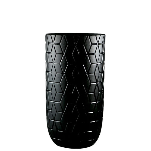 Ваза Ceramika Design Geoma черного цвета, фото