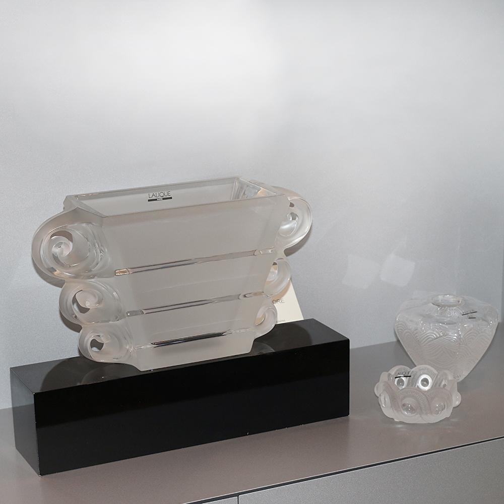 Ваза Lalique Lijang Limited Edition прозрачная