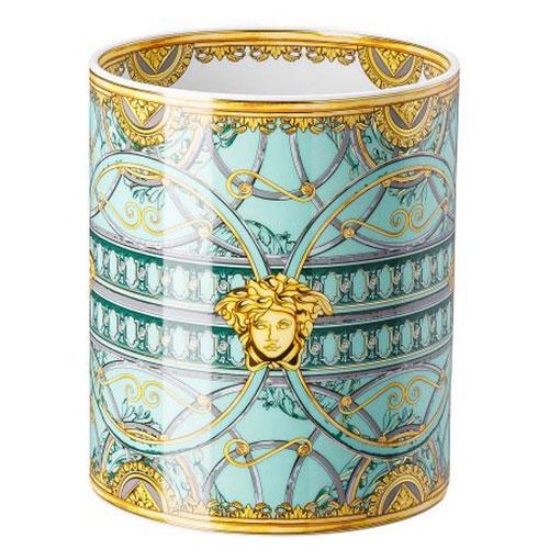 Настольная ваза Rosenthal Versace Scala Palazzo Verde