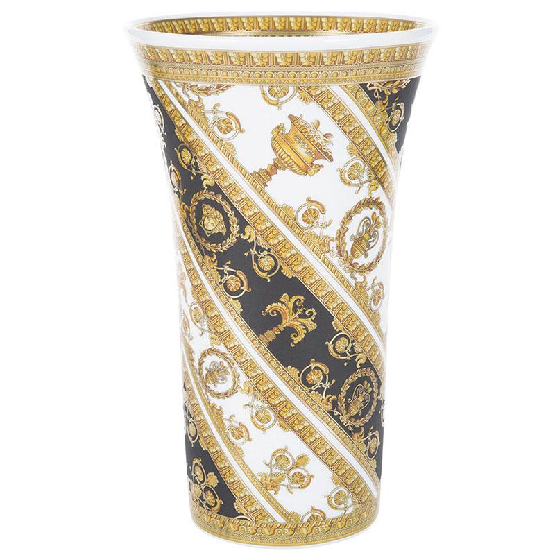 Ваза из фарфора Rosenthal Versace I Love Baroque настольная