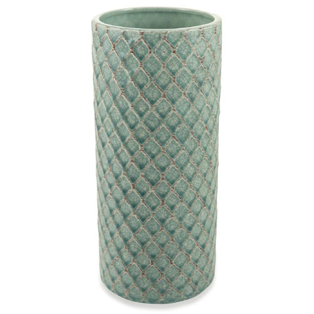 Настольная ваза Villa D'este с геометрическим рисунком