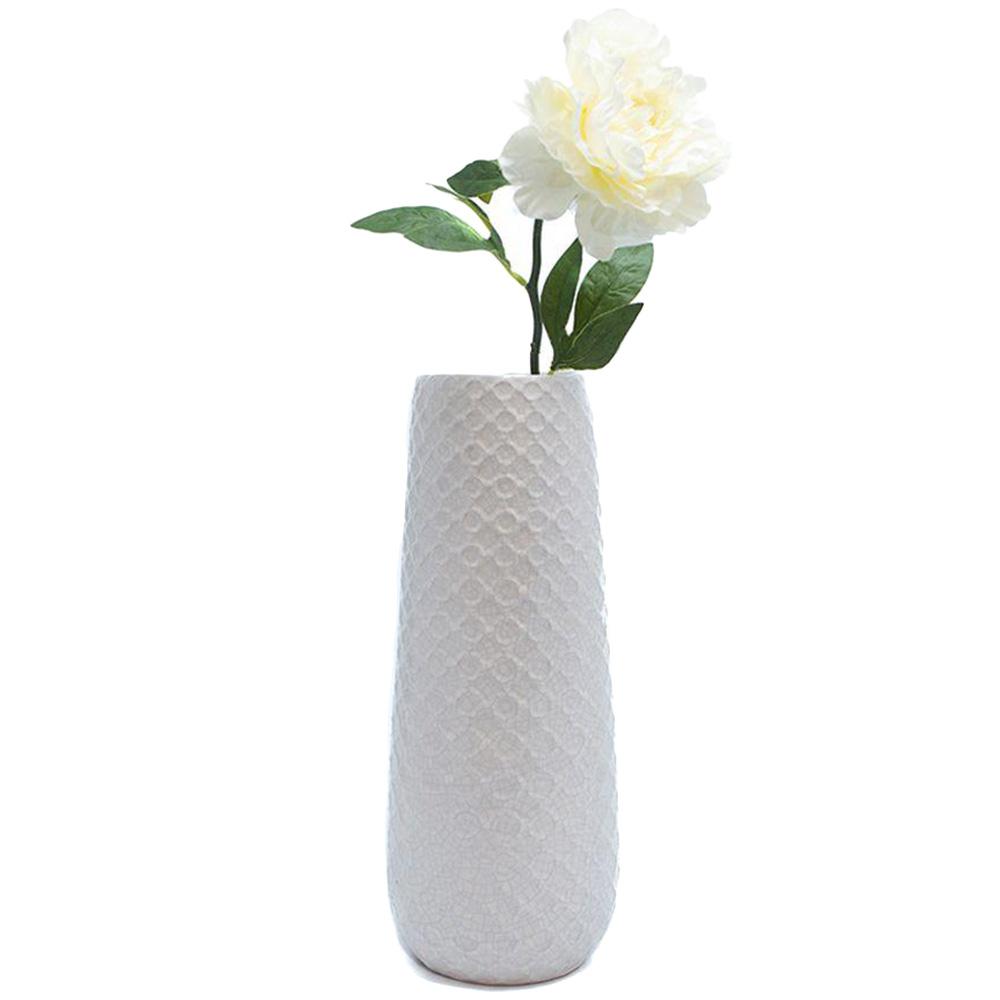 Белая ваза Villa D'este настольная