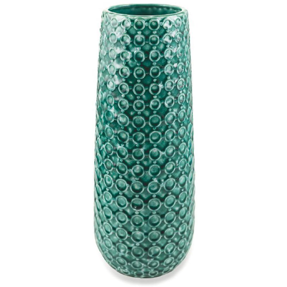 Настольная ваза Villa D'este изумрудного цвета