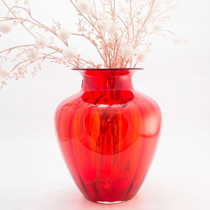 Красная ваза Comtesse Milano Capri