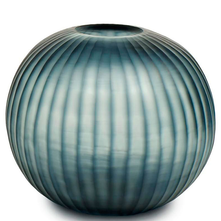 Стеклянная ваза Guaxs Gobi Round 30х35см