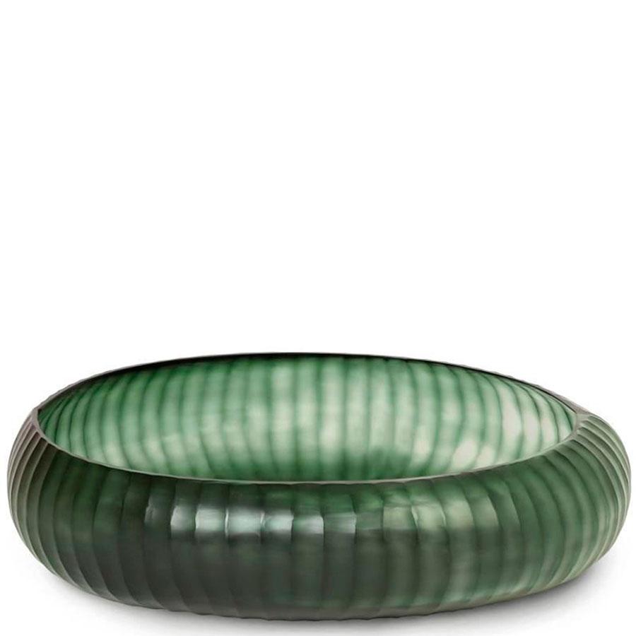 Стеклянная ваза  Guaxs Gobi Bowl 48х12см
