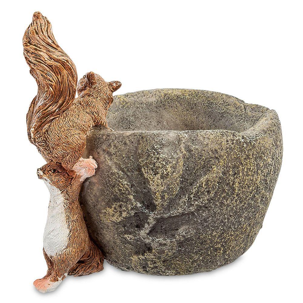 Ваза Pavone ED Белки с имитацией камня
