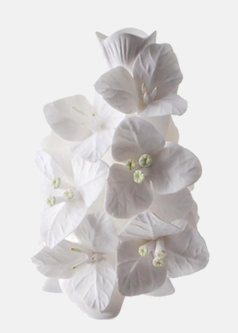 Ваза Бугенвиль Enesco из бисквитного фарфора