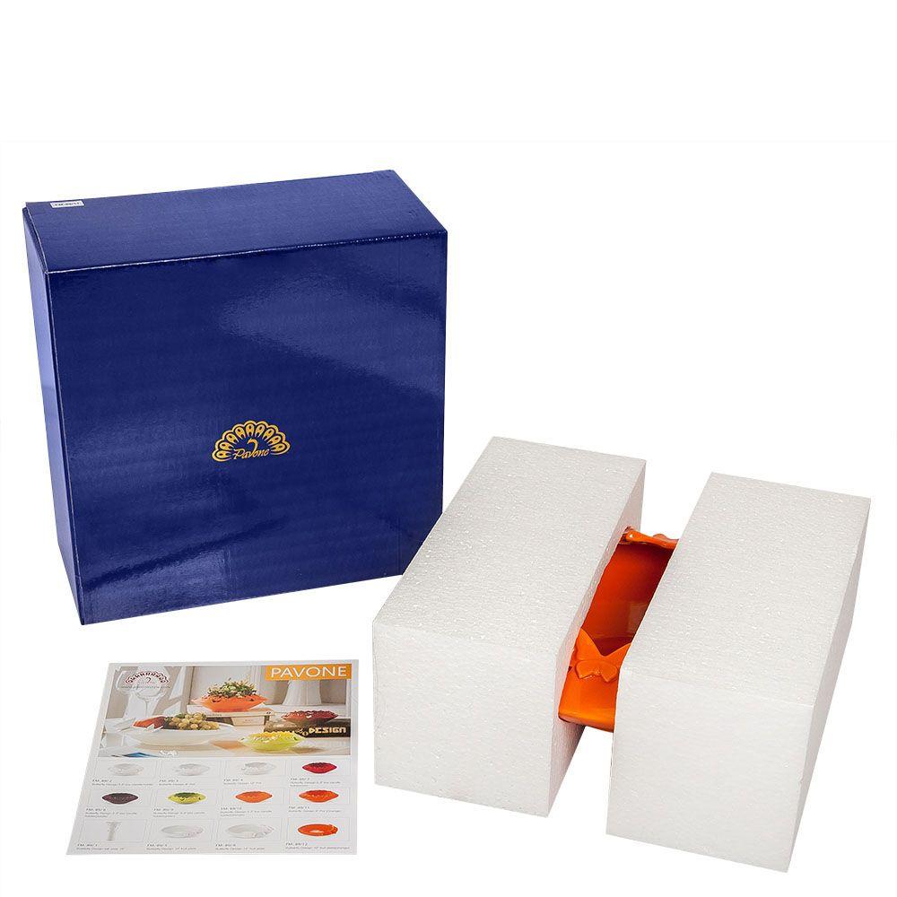 Ваза Pavone FM Бабочки оранжевого цвета