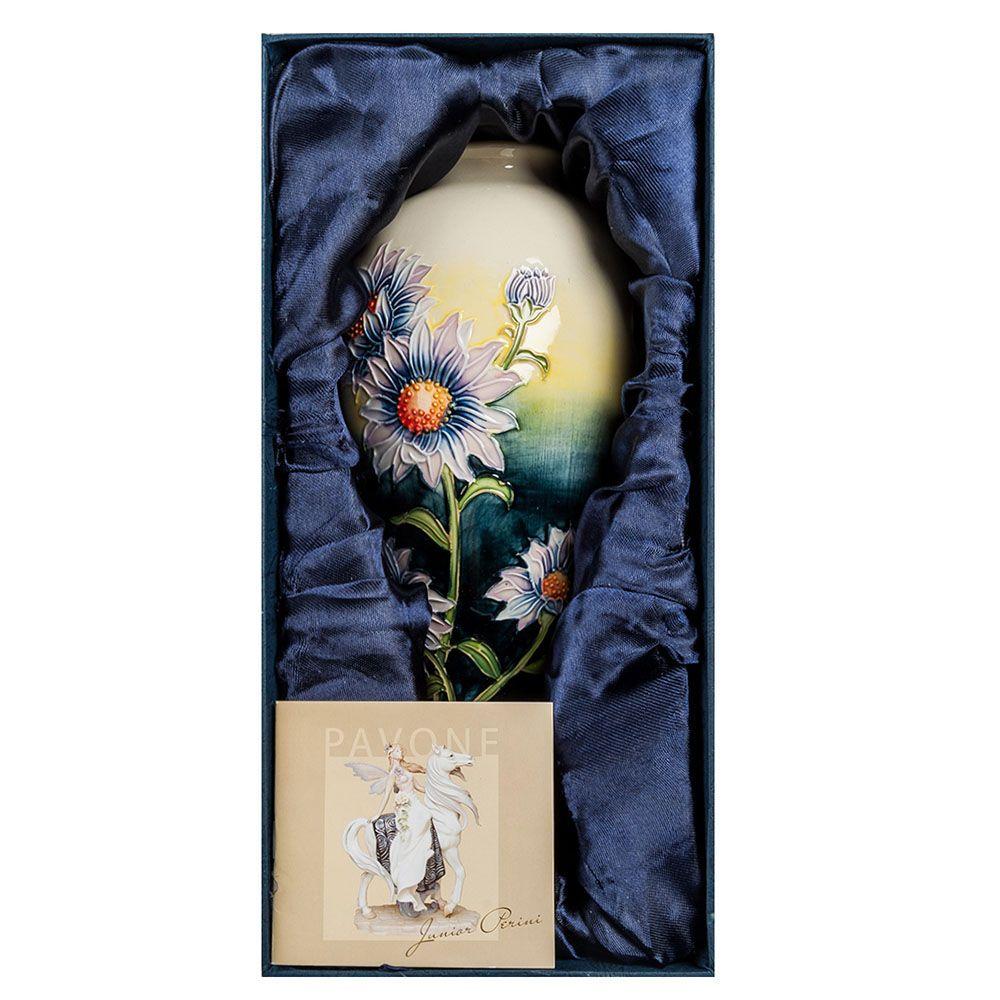 Фарфоровая ваза Pavone JP Хризантема