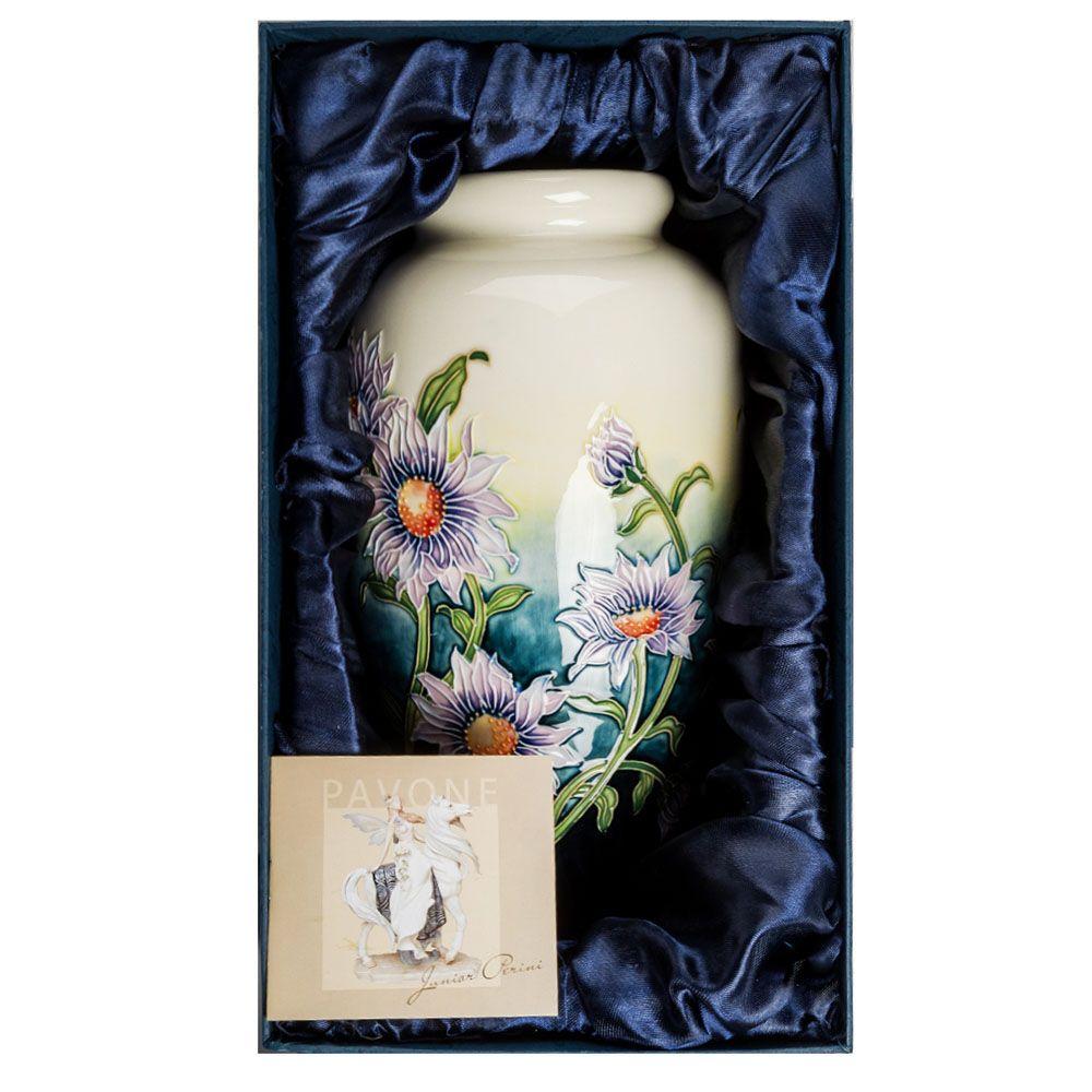 Большая ваза Pavone JP Хризантема