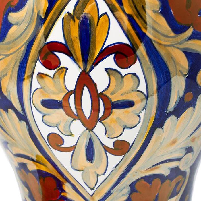 Ваза L'Antica Deruta Lustro Antico из керамики
