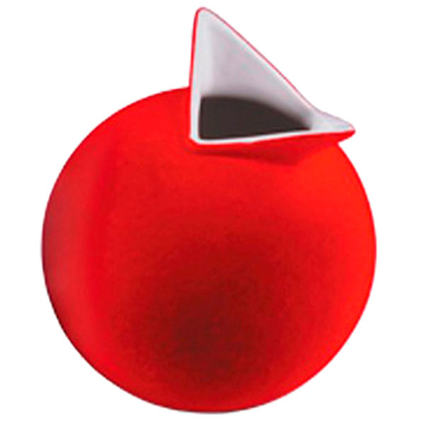 Ваза PO Selected Cuco красная