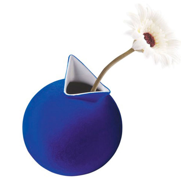 Ваза PO Selected Cuco синяя