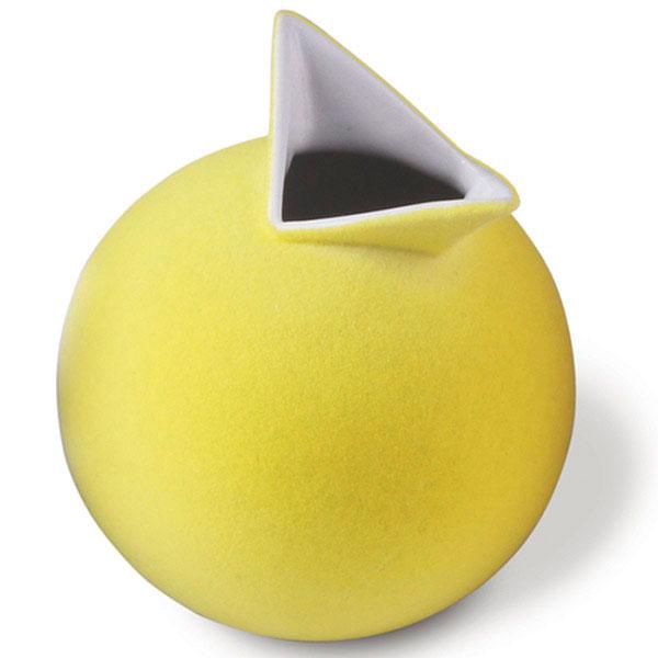 Ваза PO Selected Cuco желтая
