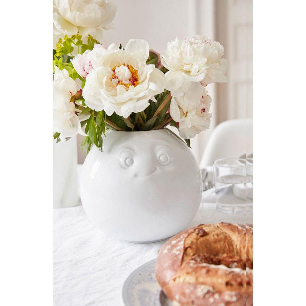 Фарфоровая ваза Tassen Amused white