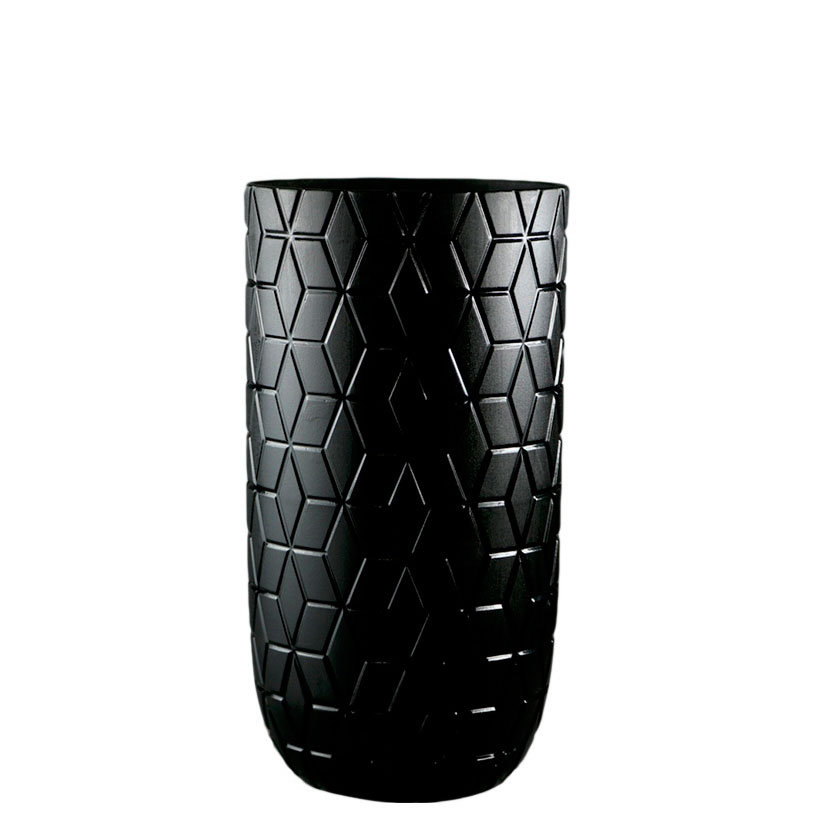 Ваза Ceramika Design Geoma черного цвета