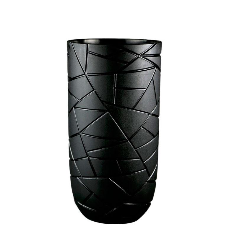 Ваза Ceramika Design Ice черного цвета